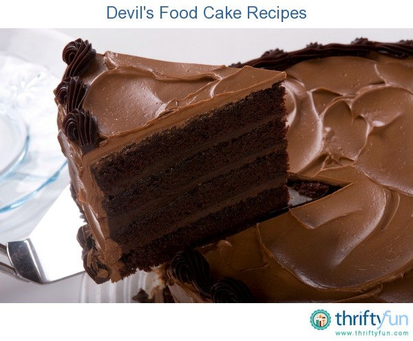 Devil's Food Cake Recipes | ThriftyFun