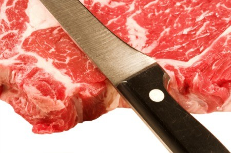 Photo of a cheaper cut of beef.