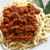 Spaghetti With Ragu