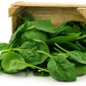 Drying Spinach