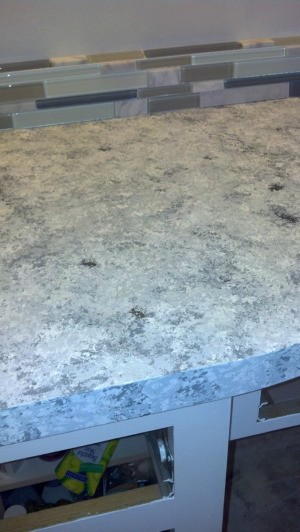 Countertop Paint Problems : Question: Problems Painting Laminate Countertop