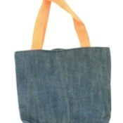 Denim Fabric Tote