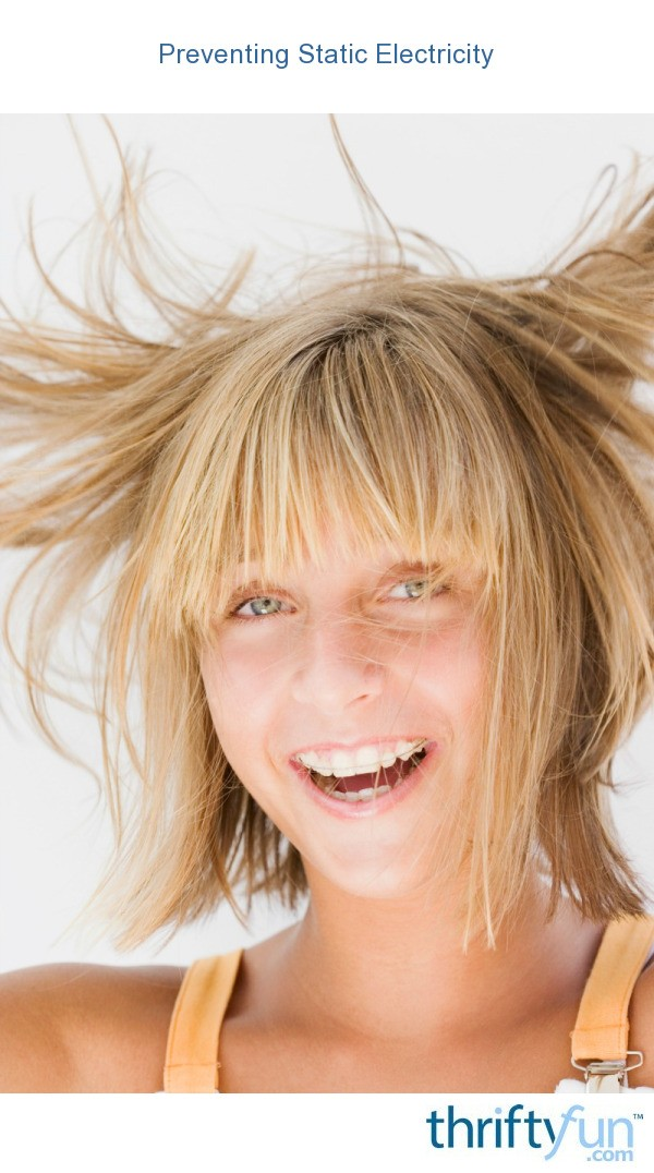 The best remedy for the static electricity in your hair