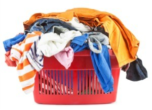 basket of clothing