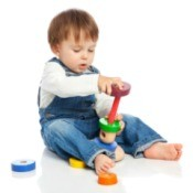 Toddler Playing