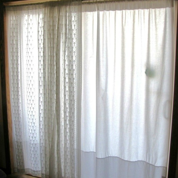Curtains made from sheets 2