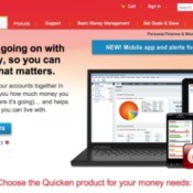 quicken's website