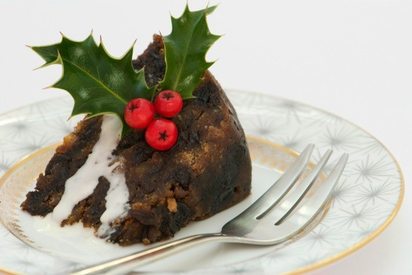 Slice of Christmas Pudding