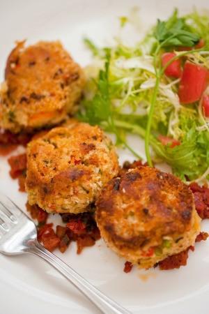 Low Calorie Imitation Crab Cakes