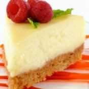 cheesecake with graham cracker crust