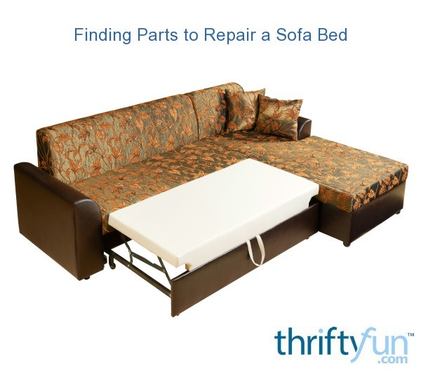 Finding Parts To Repair A Sofa Bed Thriftyfun