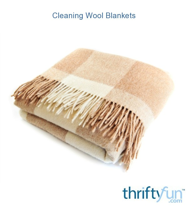 cleaning wool blankets thriftyfun. Black Bedroom Furniture Sets. Home Design Ideas