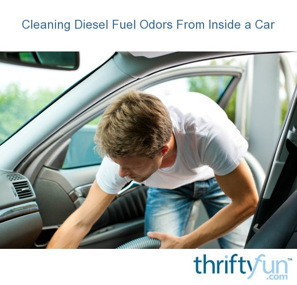 cleaning diesel fuel odors from inside a car thriftyfun. Black Bedroom Furniture Sets. Home Design Ideas