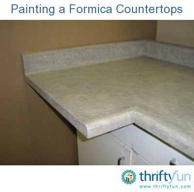 Formica Countertop Paint Kit : Painting a Formica Countertop ThriftyFun