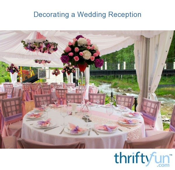 planning wedding reception procedures