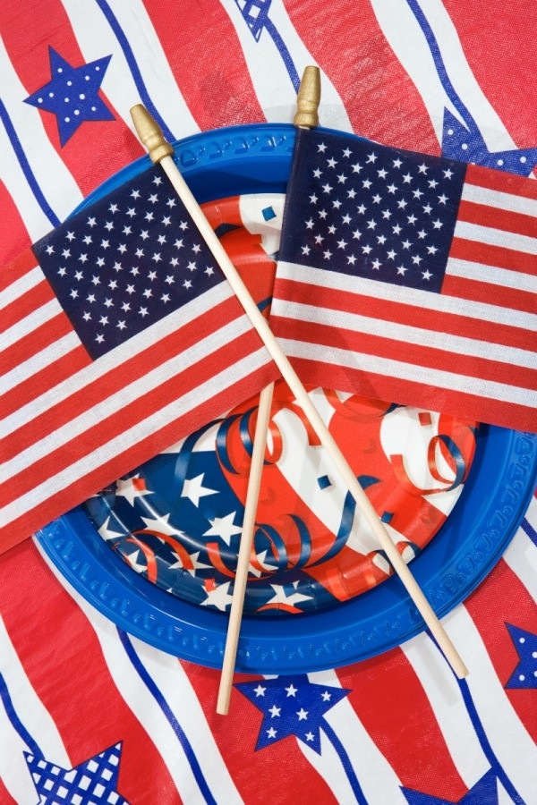4th of july decorating ideas thriftyfun for Decoration 4 july