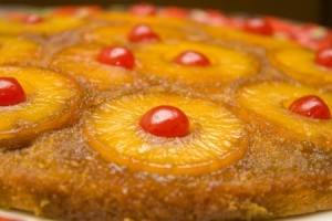 Cake using Dole pineapple.