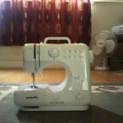 Small sewing machine.