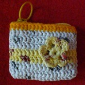 plarn coin purse