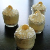 Banana Cream Pie in a Jar