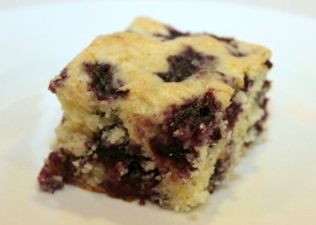 blueberry lemon breakfast cake 1