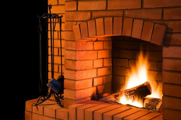 how to clean fireplace gloves