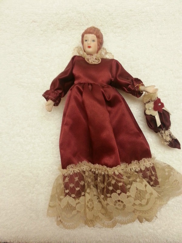 Full length view of doll.