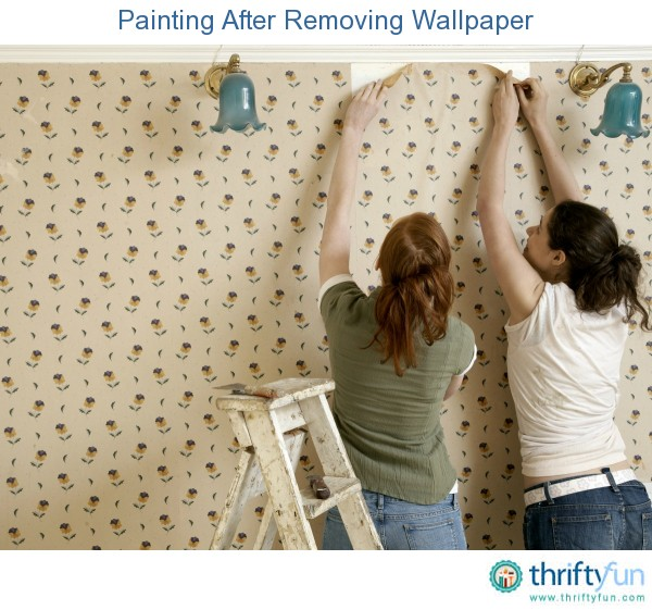 removing wallpaper to paint - photo #2