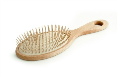 Plain Hairbrush
