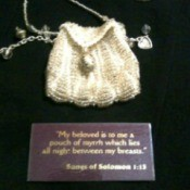 Knitted Myrrh Bag