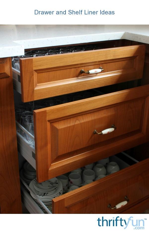 drawer and shelf liner ideas thriftyfun
