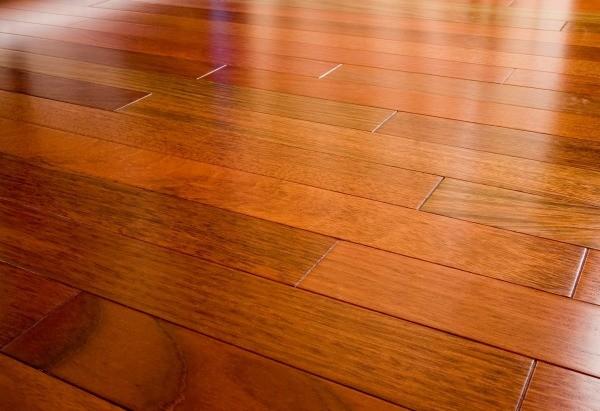 Hardwood Floor Water Damage floor damage Brazilian Cherry Hardwood Floor