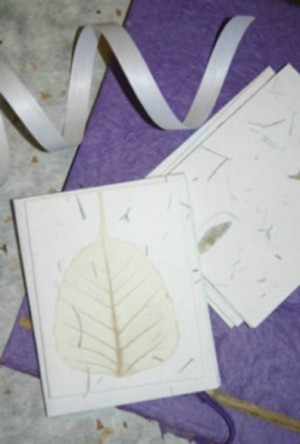 homemade plantable paper