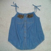 Recycled Summer Top