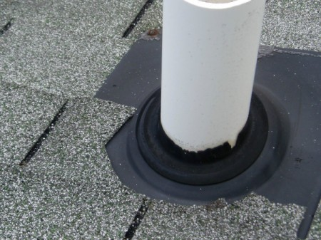 Inspect Roof Vents for Cracks
