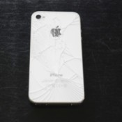 Fixing iPhone 4 Broken Back Glass