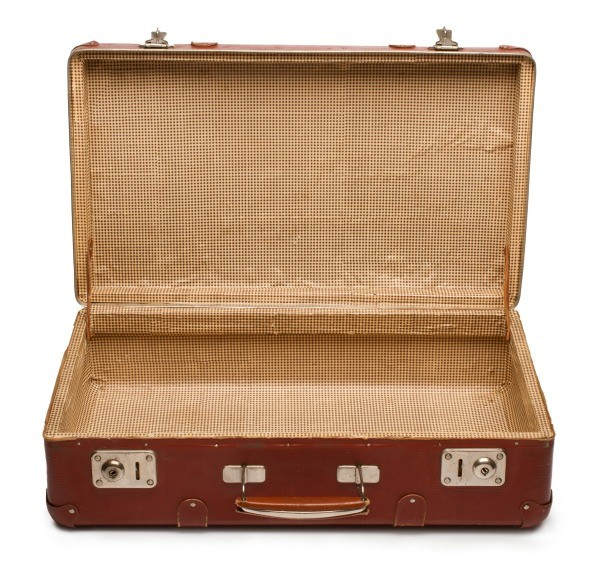 Removing odors from a suitcase thriftyfun for What to do with vintage suitcases