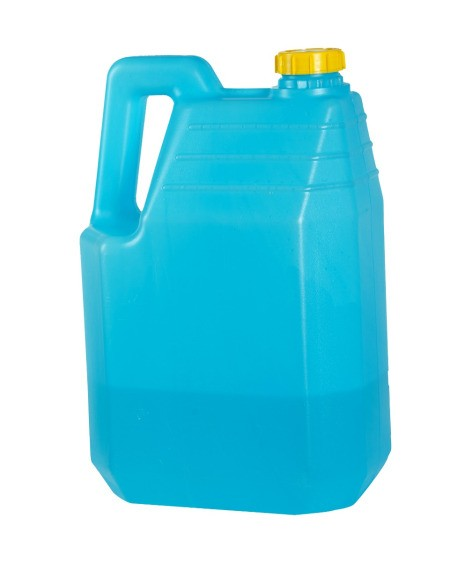 Blue Kerosene Bottle