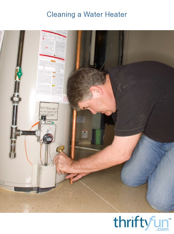 Clean Hot Water Heater 4