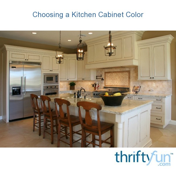 Choosing Kitchen Cabinets ~ Choosing a kitchen cabinet color thriftyfun