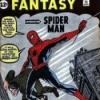 Spider-man comic, Amazing Fantasy #15, the first appearance of Spider-Man