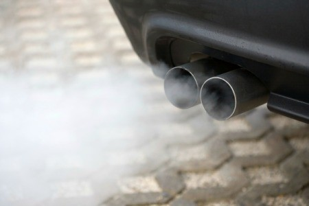 Gray Smoke Coming From a Tailpipe