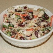 Bowl of cole slaw