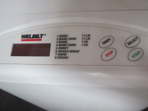 Welbilt bread machine abm-100-4 youtube.