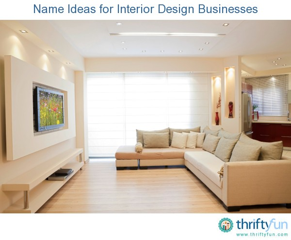 name ideas for interior design businesses thriftyfun