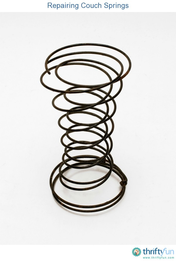 Repairing Couch Springs Thriftyfun