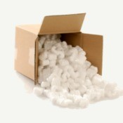 Styrofoam Packing Peanuts