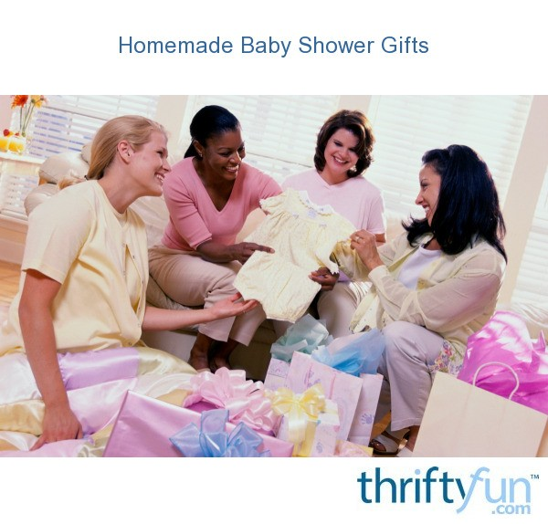 homemade baby shower gifts thriftyfun