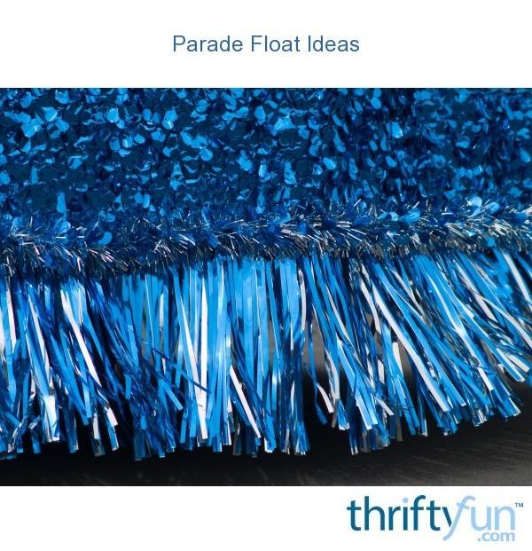 Simple parade floats ideas parade float ideas thriftyfun
