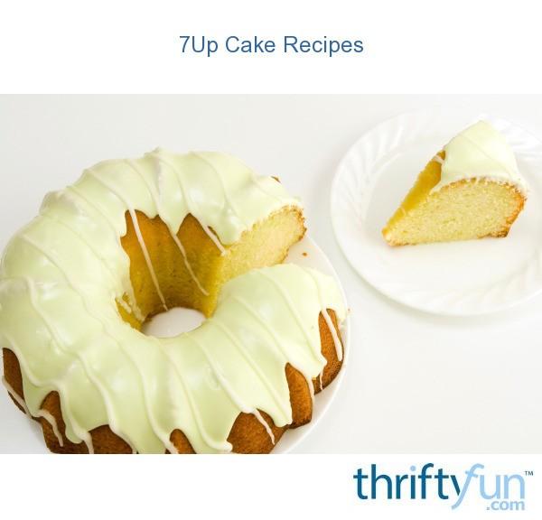 7Up Cake Recipes